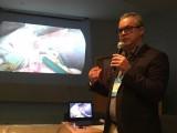 Médicos fazem treinamento da vídeocirurgia em nós, suturas e anastomoses